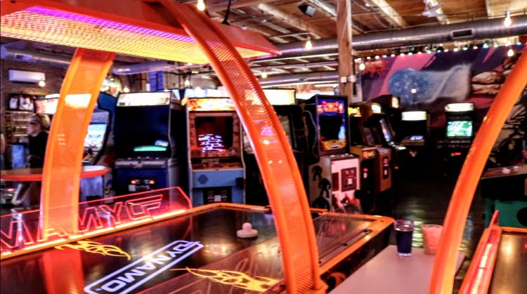 Raleigh Arcade