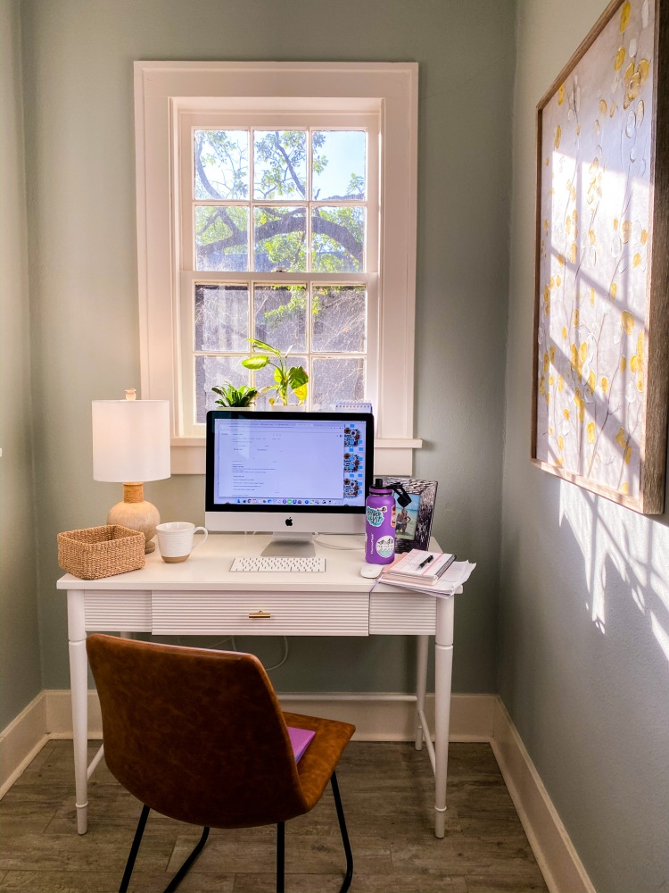 Home Office Space, Little Rock Blogger