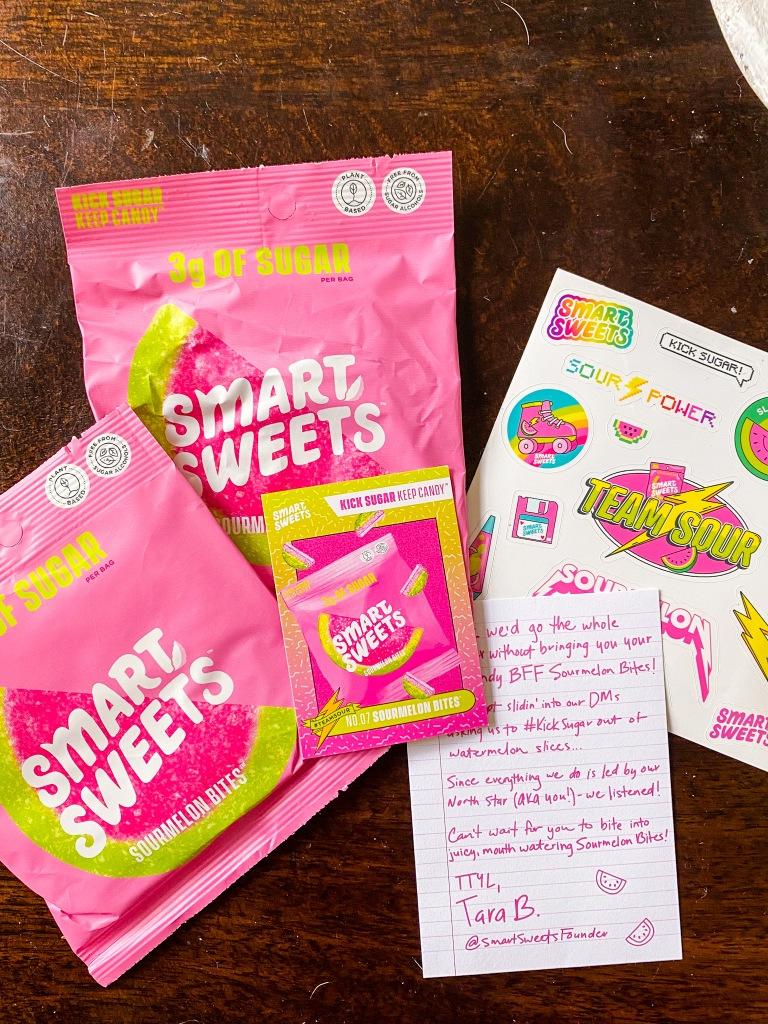Smart Sweets Sourmelon Bites