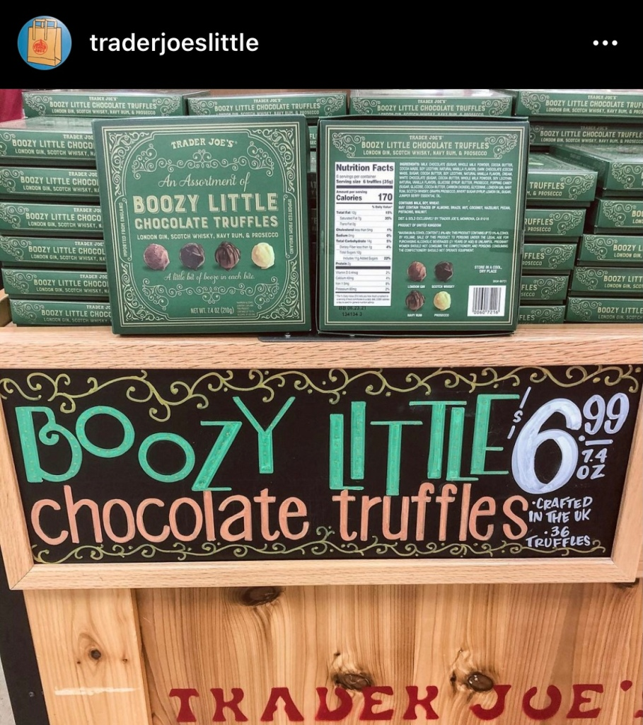 Trader Joes Boozy Little Chocolate Truffles