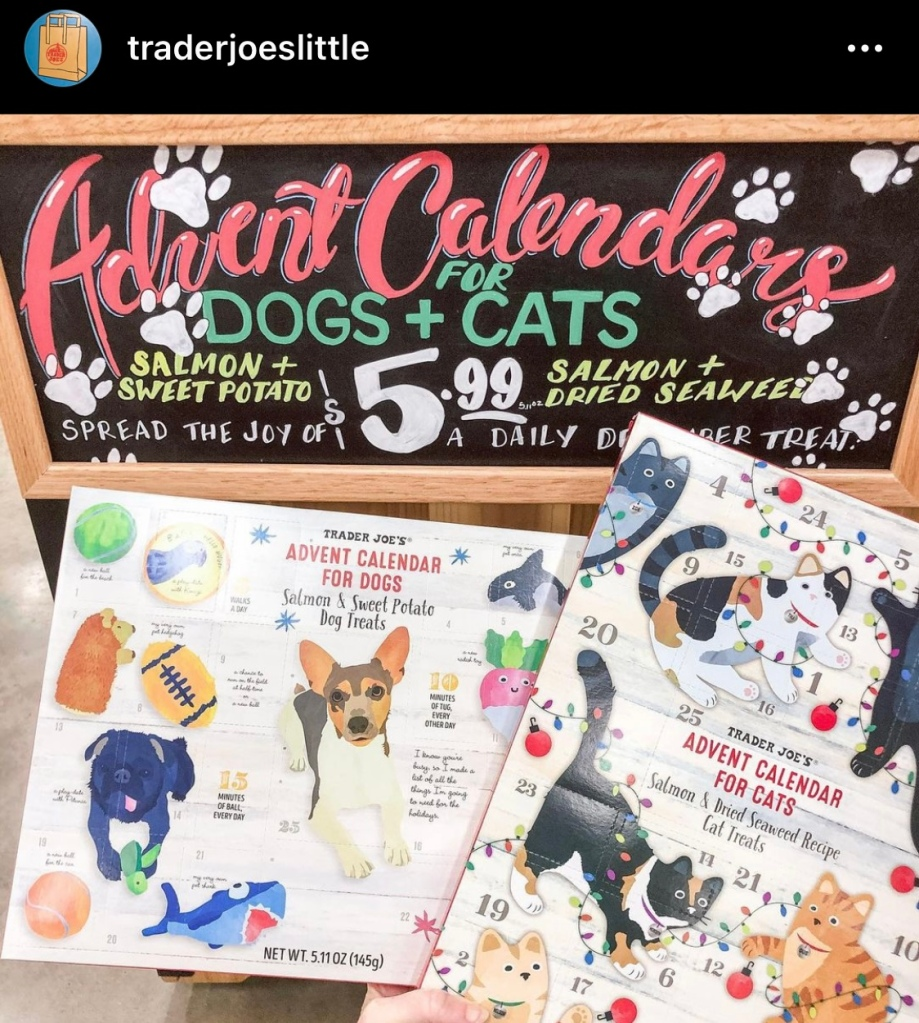 Trader Joes Advent Calendar for Pups
