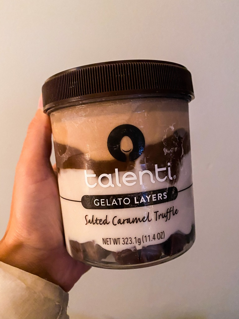 Talenti Gelato Salted Caramel Truffle