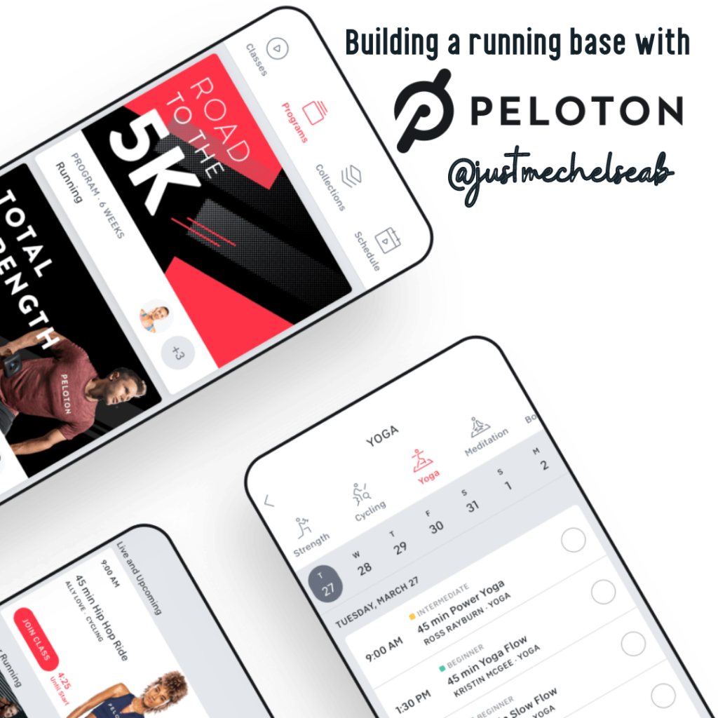 Building a running base with the One Peloton App