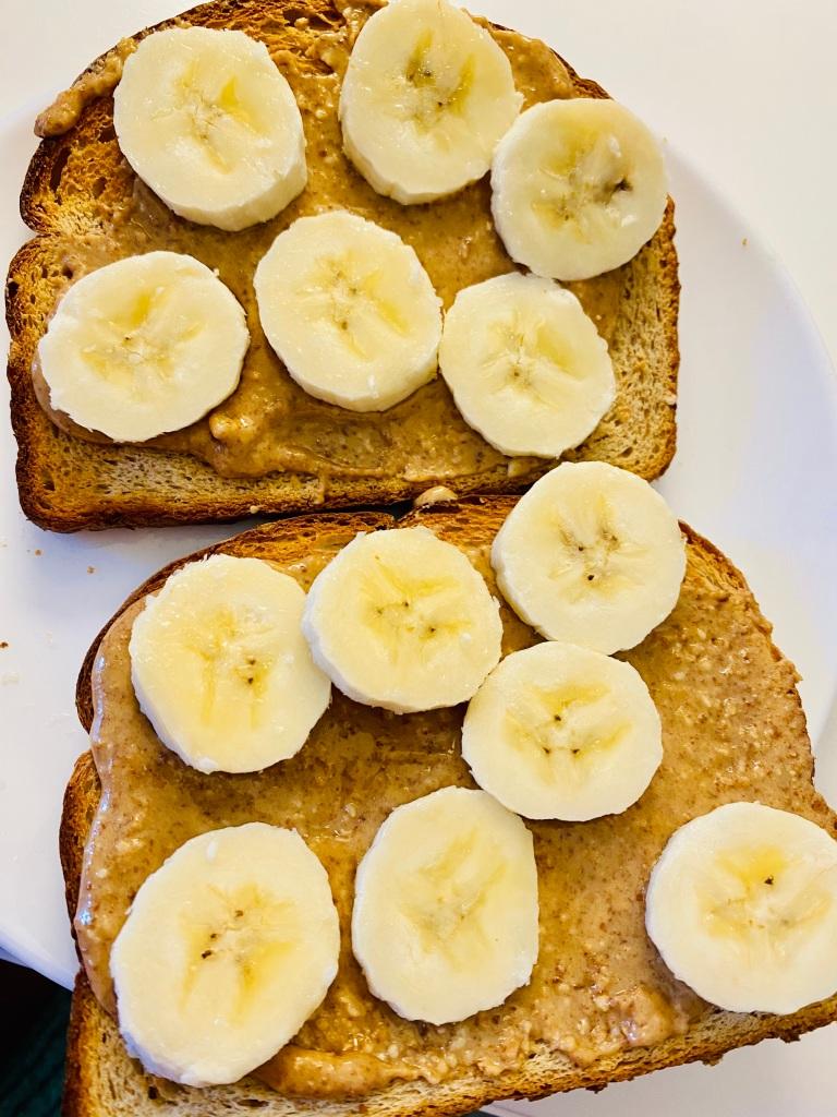 Honey Roasted Peanut Butter toast