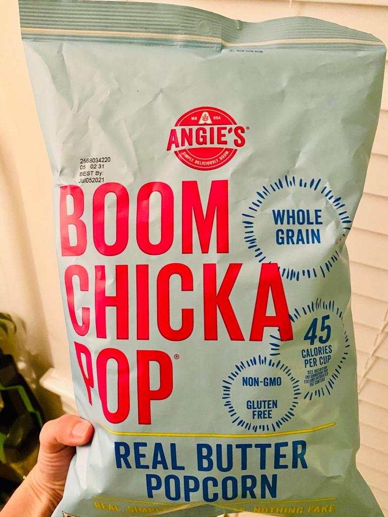 Boom Chicka Pop Butter Popcorn