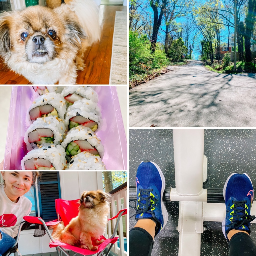 WEEKEND WITH ME: WORKOUTS + DANCING RAZORBACKS + SPRING CUT