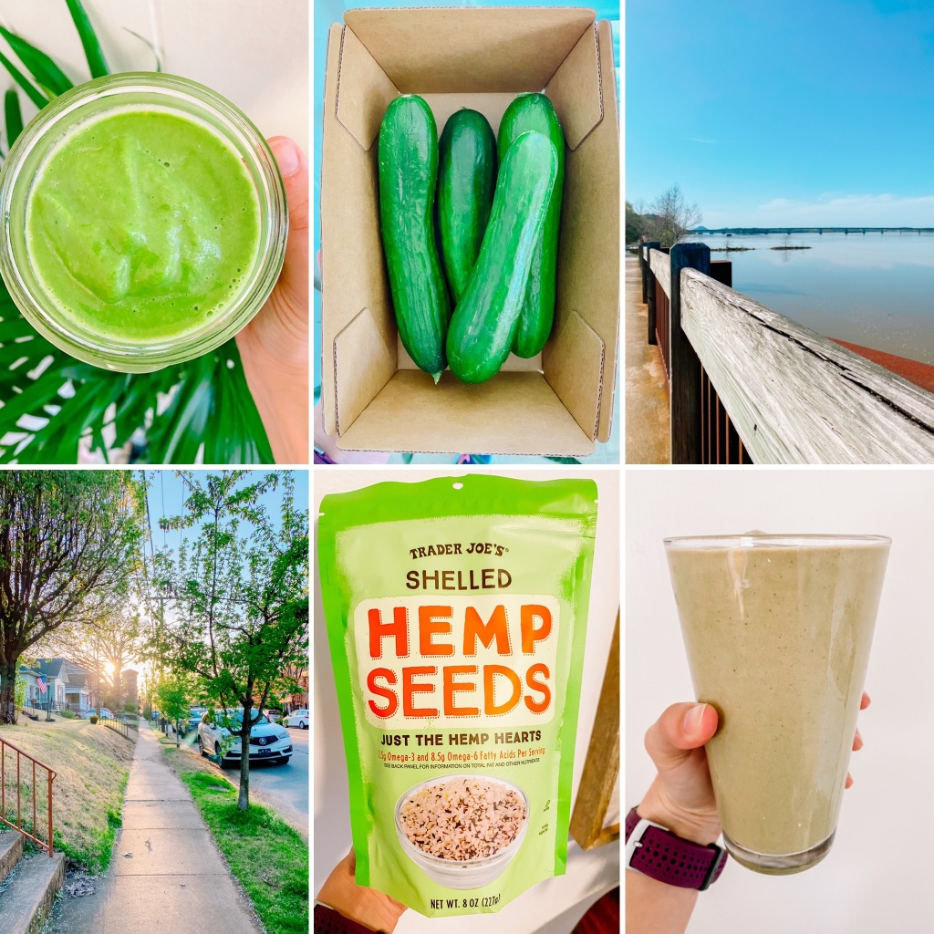 THINGS I'M LOVING LATELY: MARCH 2021 {ALL THE  SPRING GREENS + POST-WORKOUT RECOVERY DRINKS AND SNACKS}