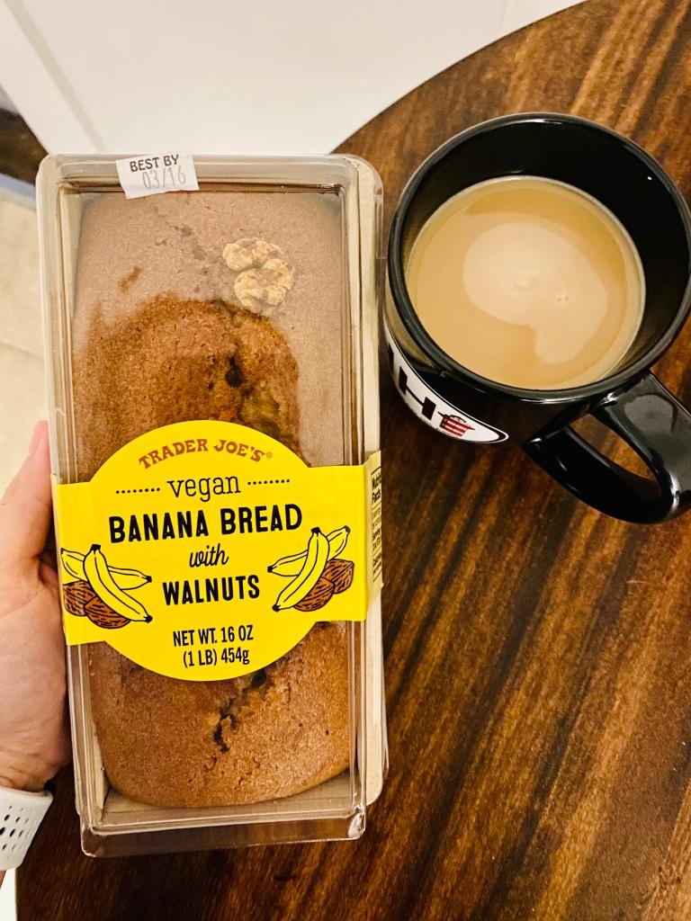 Vegan Banana Bread from Trader Joe's