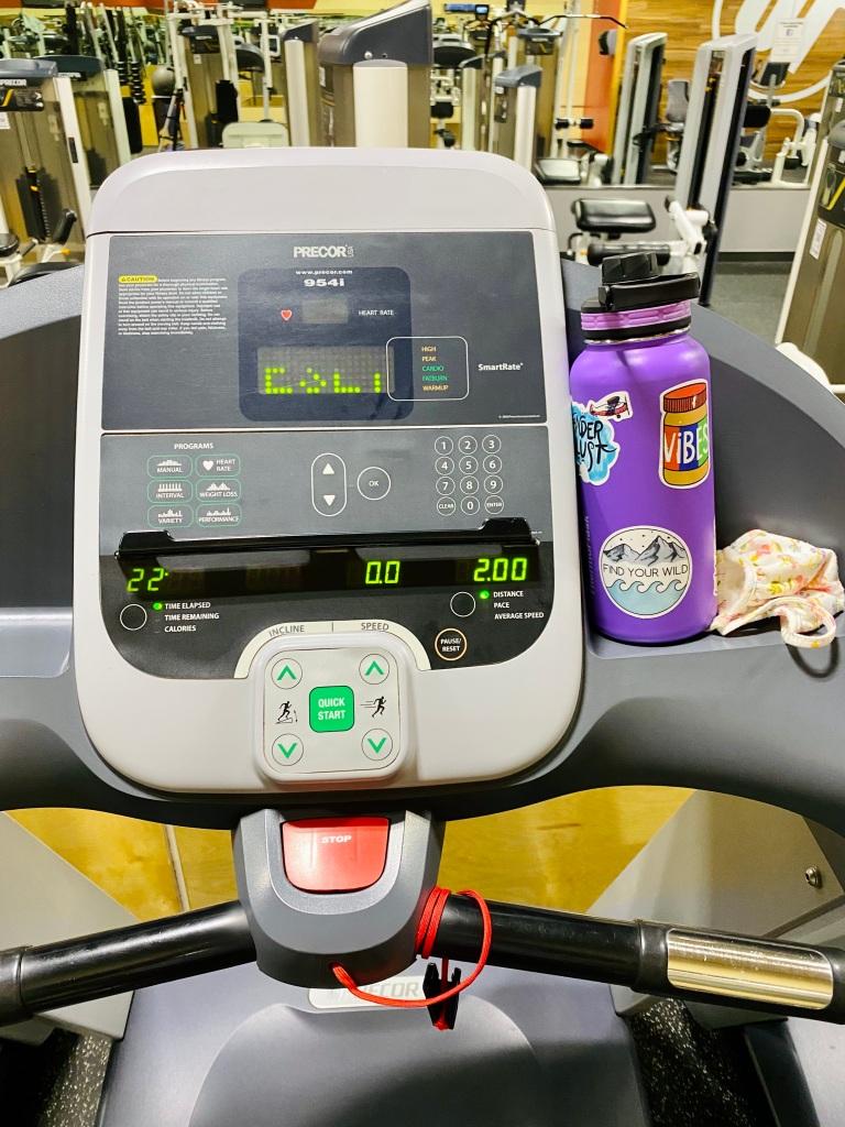 Treadmill Running Workout