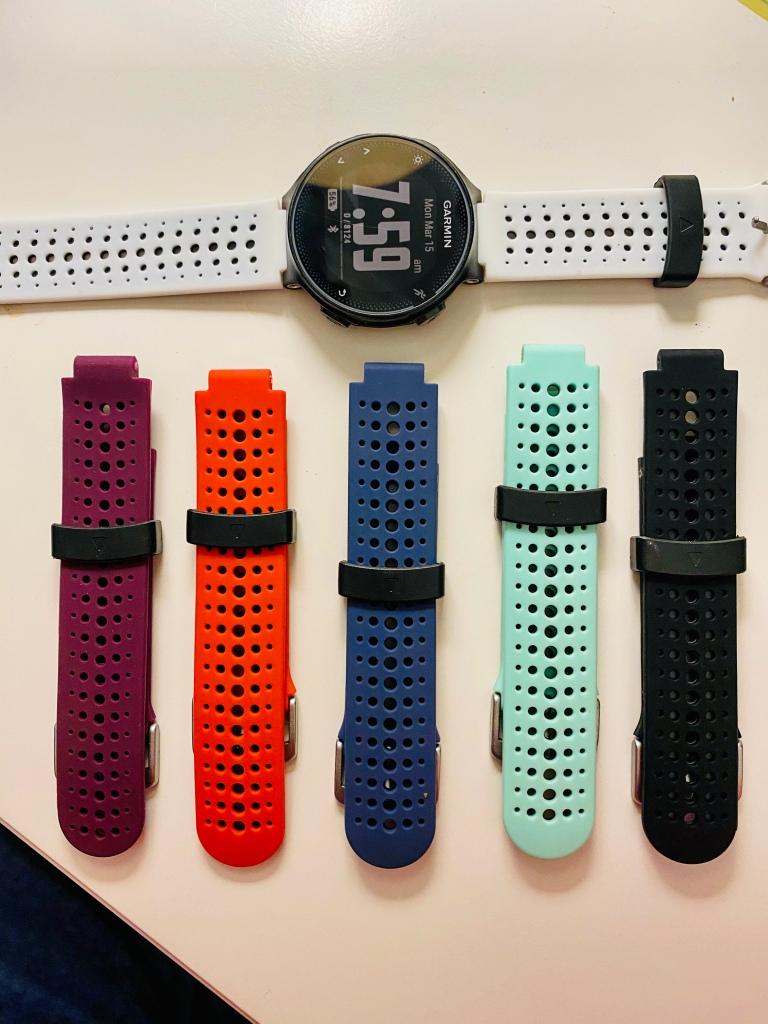Garmin 235 Running Watch and Bands
