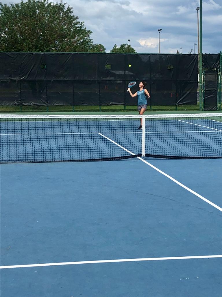 Beginner tennis